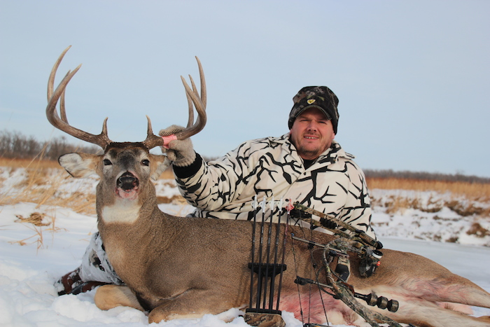 December Bow Buck Image